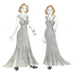 Anna I & Anna II sketch