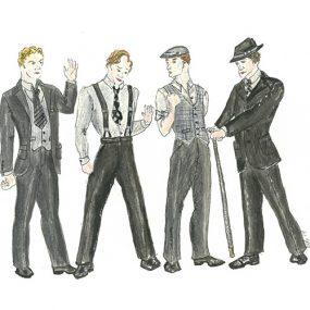 Men's Ensemble sketch