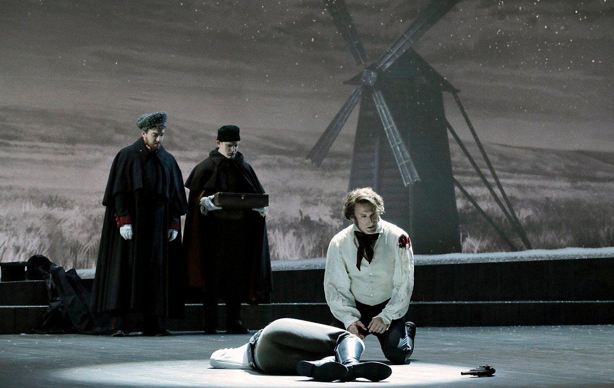 Kim Jong Il staged the opera Eugene Onegin 08.06.2009 70